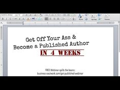"Watch the ENTIRE replay of the ""Become a Published Author in 4 Weeks"" webinar - no opt-in, no hoop.  Interested in the bootcamp? Learn more: http://business-soulwork.com/get-published-bootcamp/  #contentmarketing #author #writer #kindle #kindlepublishing #writing #writingtips #publicity #coach #healthcoach #lifecoach #solopreneur #mompreneur #entrepreneur #creativity"