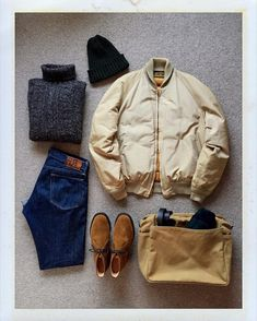 Today's Outfit. 70's #EddieBauer #AllPurpose Down Jacket #JohnTulloch Turtle Neck Sweater #Highland2000 Wool Knit Cap #Johnstons Cashmere Scarf #RRL Slim Fit Jeans #Filson Zippered Tote Bag #Churchs Suede Ryder #DailyFashion #Cordinate #Vintage #Fashion #FashionPost #ファッション #コーディネート #エディーバウアー #ジョンタロック #ジョンストンズ #ラルフローレン #フィルソン #チャーチ by the.daily.obsessions