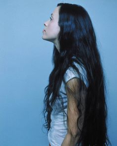 Alanis Morisstte and her amazing hair
