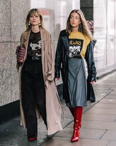 #londonfashionweek @_jeanettemadsen_  @emilisindlev |  @collagevintage2 @voguespain #streetfashion #streetstyle #fashion #blogger #fw17 #fashionweek #london #lfw
