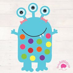 Miss Monster Pom Pom Learning Mats AUTOMATIC DOWNLOAD by BusyLittleBugsShop on Etsy https://www.etsy.com/au/listing/106955217/miss-monster-pom-pom-learning-mats