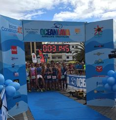 #OceanLava #triathlon (Arrecife, Canarias Islands, 24 October 2015): 3rd race to our #HawaiiChallenge. Ready to start!