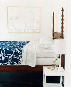 A Case For Blue and White