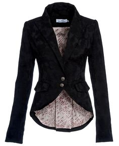 ladies frock blazer love- ( LARGE PIC.)