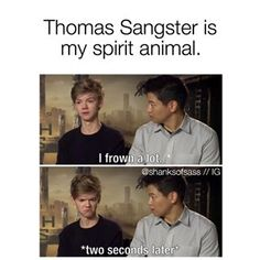 Find images and videos about funny, newt and thomas brodie sangster on We Heart It - the app to get lost in what you love. Maze Runner Thomas, Newt Maze Runner, Maze Runner Funny, Maze Runner Movie, Maze Runner Quotes, Maze Runner Trilogy, Maze Runner Series, Thomas Brodie Sangster, He's Mine