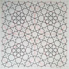 Bou059 #geometric #pattern #geometry #symmetry #mathart #regolo54 #handmade #islamicdesign