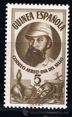 GUINEA ESPAÑOLA 1950 (294) DIA DEL SELLO COLONIAL (NUEVO)