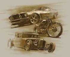 Car show art by FutureElements.deviantart.com on @deviantART