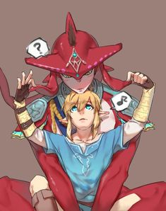 The Legend of Zelda: Breath of The Wild; ❤ Prince Sidon x Link