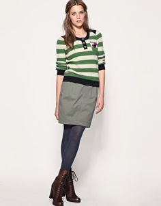 That's Schooly, but cute. I might wear this if I were a teacher. lol.