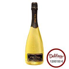 Espumoso con oro Vin Doré, glamour puro en botella. El cava con oro presente en los grandes eventos.