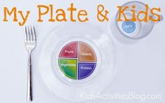 Easy thing to make to help kids visualize healthy food choices