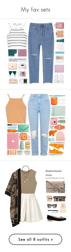 """""""My fav sets"""" by infintyforever ❤ liked on Polyvore featuring Christy, Topshop, STELLA McCARTNEY, Joolz by Martha Calvo, Fjällräven, Sisley - Paris, Dirty Laundry, Deux Lux, shu uemura and NARS Cosmetics"""