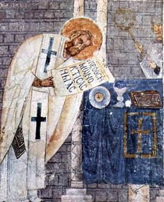 Basil of Caesarea, also called Saint Basil the Great, (329 or 330[5] – January 1, 379) was the Greek bishop of Caesarea Mazaca in Cappadocia, (modern-day Turkey). He was an influential theologian who supported the Nicene Creed and opposed the heresies of the early Christian church, fighting against both Arianism and the followers of Apollinaris of Laodicea. His ability to balance his theological convictions with his political connections made Basil a powerful advocate for the Nicene…