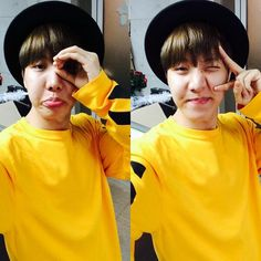 J-Hope twitter update   Why does the shirt looks like the one Jimin wore during one of their video? 0.o