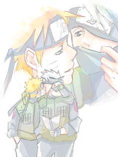 Photo by altea vicariotto Naruto And Sasuke Kiss, Naruto Anime, Naruto Cute, Anime Guys, Naruto Uzumaki Shippuden, Shikamaru, Naruto's Dad, Kakashi Sensei, Naruto Pictures