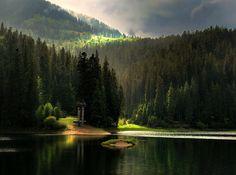 Carpathian mts, UKRAINE, from Iryna