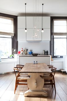 edison bulb pendant focal point kitchen dining room