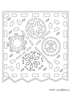 Free papel picado clipart and fiesta-style invitation