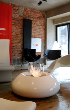 Bubble Commerce biofireplace by Serge Attalah | Planika