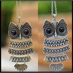 Vintage style silver tone owl necklace New. Cute vintage style silver tone owl necklace. Thank you for visiting my closet, please let me know if you have any questions, I offer great discounts on bundles :) Boutique Jewelry Necklaces