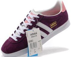 Adidas Gazelle Bordeaux Femme 2