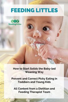 Worried about starting solids the baby-led weaning way? Not sure how to cook and cut foods to keep them safe for baby? Want to prevent or correct picky eating in your baby, toddler or young child? Check out our online courses created by a feeding therapist and dietitian team to help you feel confident feeding your baby, toddler, and kids. #feedinglittles #baby #toddler #kid #meals #food Baby Led Weaning Breakfast, Baby Led Weaning First Foods, Baby Weaning, Baby Feeding Schedule, Starting Solids, Kid Meals, Baby On A Budget, Healthy Toddler Meals, Breastfeeding Tips