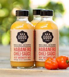 Habanero Chili Hot Sauce, 3-Pack | Designed to add punch to dishes from any cuisine—American, Mex... | Hot Sauce