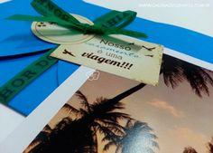 Convite casamento praia - Galeria de Convites