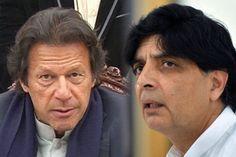 فوج نے عمران خان اور چوہدری نثارکی ملاقات کروائی