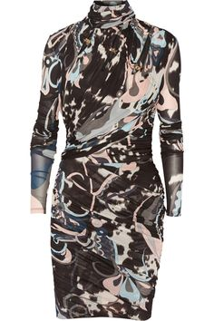 Emilio PucciChain-embellished printed jersey mini dressclose up