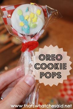 Cookie Pops - That's What {Che} Said...