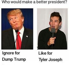 I garentie if I put this on my page everyone would vote for tyler an 90 percent dont even no who tyler is