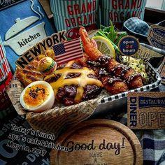 Real Food Recipes, Cooking Recipes, Portable Food, Bento Box, Food Packaging, Food Cravings, Food Design, Food Plating, Japanese Food