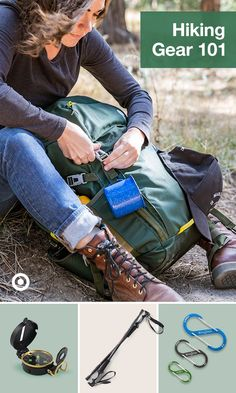 Find hiking gear, outfits & camping supplies, from backpacks to hiking poles, to prep for mountain hikes & trail walks nearby. Thru Hiking, Camping And Hiking, Hiking Gear, Hiking Backpack, Outdoor Camping, Backpacking, Hiking Training, Hiking Essentials, Hiking Guide