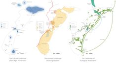 The master plan of Orongo Station simultaneously considers the cultural, agricultural, and ecological landscape. The constructed projects at the station are opportunities to create and reveal overlaps of these distinct landscape visions.