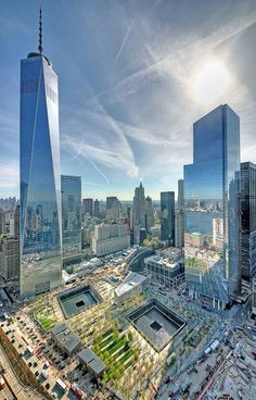 New York City, World Trade Center was hit by terrorist year called NYC New York City Travel Honeymoon Backpack Backpacking Vacation One World Trade Center, Trade Centre, Ground Zero Nyc, Photographie New York, New York City, Ville New York, Ellis Island, New York Travel, Empire State Building