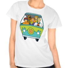 The Mystery Machine Shot 16 Tee Shirts
