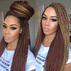 Top 60 All the Rage Looks with Long Box Braids - Hairstyles Trends Rope Twist Braids, Senegalese Twist Braids, Senegalese Twist Hairstyles, Twist Braid Hairstyles, Crochet Braids Hairstyles, African Braids Hairstyles, Weave Hairstyles, Cornrows, Colored Senegalese Twist