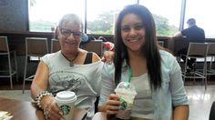 Starbucks e nós em GRU Airport