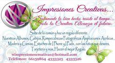 W IMPRESIONES CREATIVAS