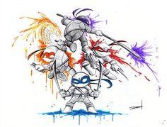 Teenage Mutant Ninja Turtle by QuynzeL.deviantart.com on @deviantART