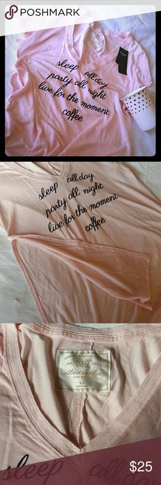 🎁 Abercrombie & Fitch Sleep wear shirt Baby pink, soft sleep shirt from Abercrombie & Fitch NY Sleep wear collection. 100% Viscose  Elegant and sexy with split sides to below breast line abd above waist with V neck. Abercrombie & Fitch Intimates & Sleepwear Pajamas