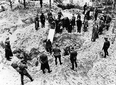 Katyn massacre, the mass execution of Polish nationals carried out by the Soviet secret police.