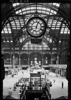 """Penn Station - let's build this to fly in, with a sign saying """"Penn Station"""" rather than the clock"""