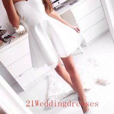 Simple short prom dresses,