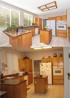 Same kitchen, but which one is inviting you in?
