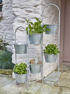 Rustic zinc planter - Nordic House