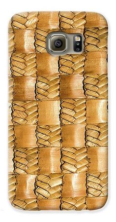 Flax Galaxy S6 Case featuring the photograph Weaving Flax - Gold by Wairua o te Moana