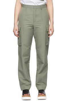 Designer Clothes, Shoes & Bags for Women | SSENSE Black Nylons, Puffer Jackets, Lace Shorts, Stella Mccartney, Khaki Pants, Women Wear, Long Sleeve, Leather Belts, Patent Leather